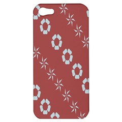 Abstract Pattern Background Wallpaper In Pastel Shapes Apple Iphone 5 Hardshell Case