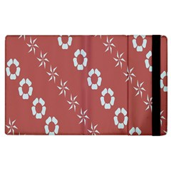 Abstract Pattern Background Wallpaper In Pastel Shapes Apple Ipad 2 Flip Case