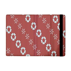 Abstract Pattern Background Wallpaper In Pastel Shapes Apple Ipad Mini Flip Case