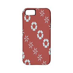 Abstract Pattern Background Wallpaper In Pastel Shapes Apple iPhone 5 Classic Hardshell Case (PC+Silicone)