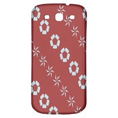 Abstract Pattern Background Wallpaper In Pastel Shapes Samsung Galaxy S3 S III Classic Hardshell Back Case