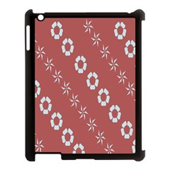 Abstract Pattern Background Wallpaper In Pastel Shapes Apple Ipad 3/4 Case (black)