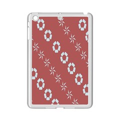 Abstract Pattern Background Wallpaper In Pastel Shapes Ipad Mini 2 Enamel Coated Cases