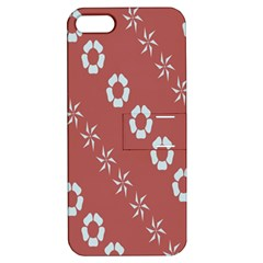 Abstract Pattern Background Wallpaper In Pastel Shapes Apple Iphone 5 Hardshell Case With Stand
