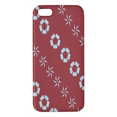 Abstract Pattern Background Wallpaper In Pastel Shapes Apple Iphone 5 Premium Hardshell Case