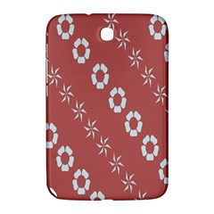 Abstract Pattern Background Wallpaper In Pastel Shapes Samsung Galaxy Note 8 0 N5100 Hardshell Case