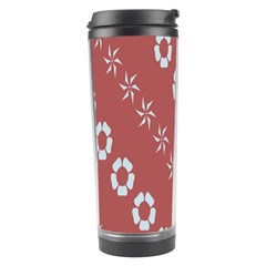 Abstract Pattern Background Wallpaper In Pastel Shapes Travel Tumbler