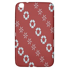 Abstract Pattern Background Wallpaper In Pastel Shapes Samsung Galaxy Tab 3 (8 ) T3100 Hardshell Case