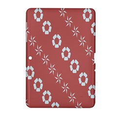 Abstract Pattern Background Wallpaper In Pastel Shapes Samsung Galaxy Tab 2 (10 1 ) P5100 Hardshell Case