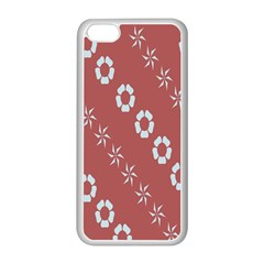 Abstract Pattern Background Wallpaper In Pastel Shapes Apple Iphone 5c Seamless Case (white)