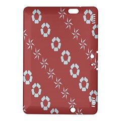 Abstract Pattern Background Wallpaper In Pastel Shapes Kindle Fire Hdx 8 9  Hardshell Case