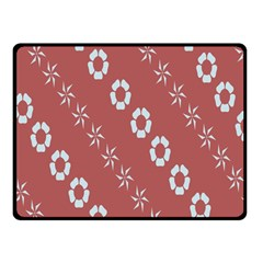 Abstract Pattern Background Wallpaper In Pastel Shapes Double Sided Fleece Blanket (small)