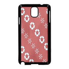 Abstract Pattern Background Wallpaper In Pastel Shapes Samsung Galaxy Note 3 Neo Hardshell Case (black)