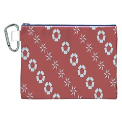 Abstract Pattern Background Wallpaper In Pastel Shapes Canvas Cosmetic Bag (xxl)