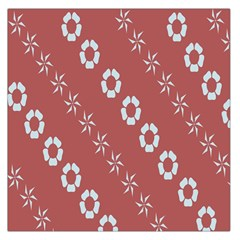 Abstract Pattern Background Wallpaper In Pastel Shapes Large Satin Scarf (square)
