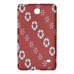 Abstract Pattern Background Wallpaper In Pastel Shapes Samsung Galaxy Tab 4 (7 ) Hardshell Case