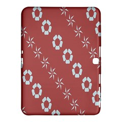 Abstract Pattern Background Wallpaper In Pastel Shapes Samsung Galaxy Tab 4 (10.1 ) Hardshell Case