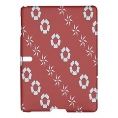 Abstract Pattern Background Wallpaper In Pastel Shapes Samsung Galaxy Tab S (10 5 ) Hardshell Case
