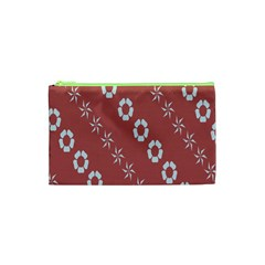 Abstract Pattern Background Wallpaper In Pastel Shapes Cosmetic Bag (xs)