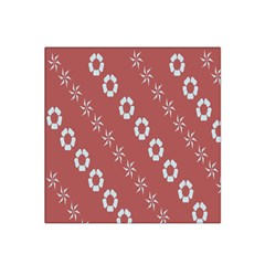 Abstract Pattern Background Wallpaper In Pastel Shapes Satin Bandana Scarf
