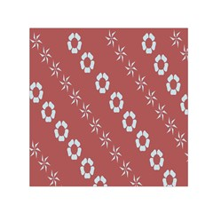 Abstract Pattern Background Wallpaper In Pastel Shapes Small Satin Scarf (square)