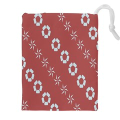 Abstract Pattern Background Wallpaper In Pastel Shapes Drawstring Pouches (xxl)