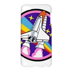 Badge Patch Pink Rainbow Rocket Apple Ipod Touch 5 Hardshell Case