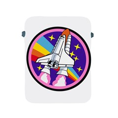 Badge Patch Pink Rainbow Rocket Apple Ipad 2/3/4 Protective Soft Cases