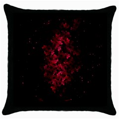 Background Scrapbooking Paper Throw Pillow Case (black)