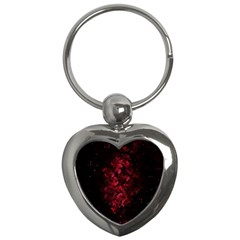 Background Scrapbooking Paper Key Chains (heart)