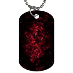Background Scrapbooking Paper Dog Tag (two Sides)