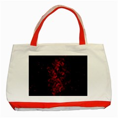 Background Scrapbooking Paper Classic Tote Bag (red)