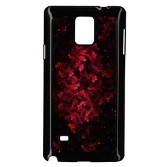 Background Scrapbooking Paper Samsung Galaxy Note 4 Case (Black)