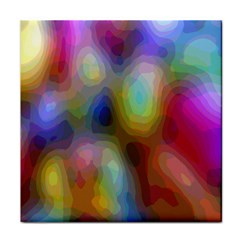 A Mix Of Colors In An Abstract Blend For A Background Tile Coasters