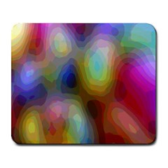 A Mix Of Colors In An Abstract Blend For A Background Large Mousepads