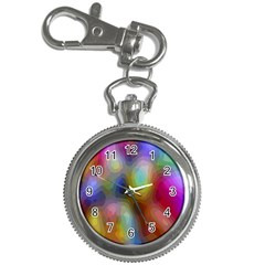 A Mix Of Colors In An Abstract Blend For A Background Key Chain Watches