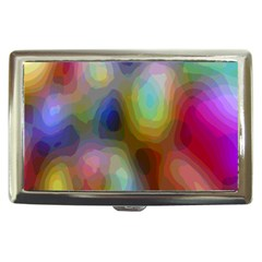 A Mix Of Colors In An Abstract Blend For A Background Cigarette Money Cases