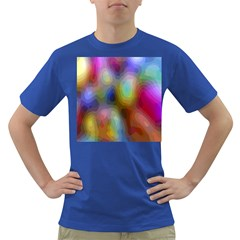 A Mix Of Colors In An Abstract Blend For A Background Dark T Shirt
