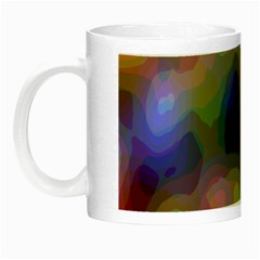 A Mix Of Colors In An Abstract Blend For A Background Night Luminous Mugs