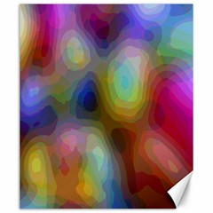 A Mix Of Colors In An Abstract Blend For A Background Canvas 20  X 24