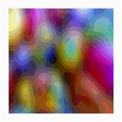A Mix Of Colors In An Abstract Blend For A Background Medium Glasses Cloth (2 Side)