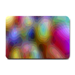 A Mix Of Colors In An Abstract Blend For A Background Small Doormat