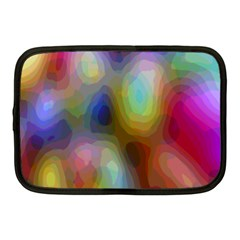 A Mix Of Colors In An Abstract Blend For A Background Netbook Case (medium)