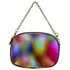 A Mix Of Colors In An Abstract Blend For A Background Chain Purses (one Side)