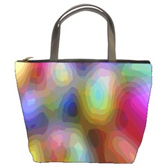 A Mix Of Colors In An Abstract Blend For A Background Bucket Bags