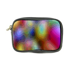 A Mix Of Colors In An Abstract Blend For A Background Coin Purse