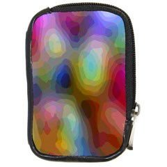 A Mix Of Colors In An Abstract Blend For A Background Compact Camera Cases
