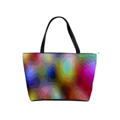 A Mix Of Colors In An Abstract Blend For A Background Shoulder Handbags