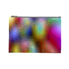 A Mix Of Colors In An Abstract Blend For A Background Cosmetic Bag (large)