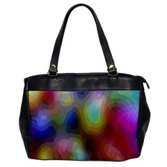 A Mix Of Colors In An Abstract Blend For A Background Office Handbags